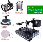 Heatpress Machine - 5 In 1 | Printing Equipment for sale in Nairobi, Nairobi Central