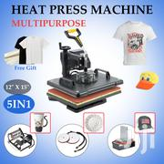 5 In 1 Heatpress | Printing Equipment for sale in Nairobi, Nairobi Central