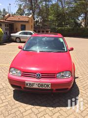 Volkswagen Golf 2001 Red | Cars for sale in Nairobi, Kilimani