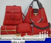 5 in 1 Leather Hand Bag | Bags for sale in Nairobi, Kilimani