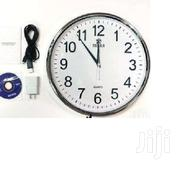 Wifi HD Spy Hidden Camera Wall Hanging Clock | Home Accessories for sale in Nairobi, Nairobi Central