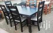 6seater Dining Table Black | Furniture for sale in Nairobi, Ngando