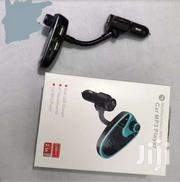 WIRELESS CAR BLUETOOTH FM TRANSMITTER 2.1A USB CAR CHARGER | Vehicle Parts & Accessories for sale in Nairobi, Nairobi Central