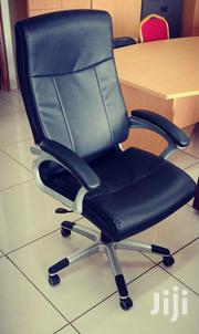 Comfy Leather Office Chairs at an Affordable Price!! | Furniture for sale in Mombasa, Shimanzi/Ganjoni