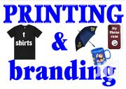 T Shirt Printing And Branding-fabric/Plastic/Glass/Metalic | Other Services for sale in Machakos, Syokimau/Mulolongo