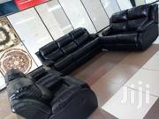 Black Leather Recliner Sofa Set | Furniture for sale in Nairobi, Imara Daima
