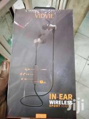 Vidvie Bt815m Bluetooth Headset Black | Accessories for Mobile Phones & Tablets for sale in Nairobi, Nairobi Central