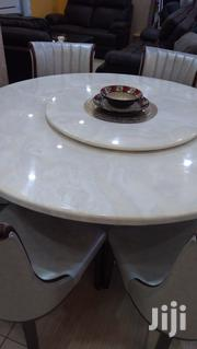 6 Seater Mable Dining Table With Rotating Top. | Furniture for sale in Nairobi, Kilimani