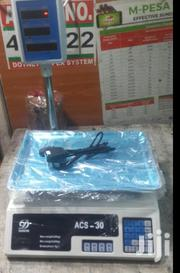 Acs-30 Weighing Scale Machine   Store Equipment for sale in Nairobi, Nairobi Central