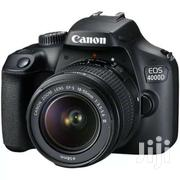 Canon EOS 4000D 18MP 3fps EFS 18-55mm III Lens DSLR Camera Black | Cameras, Video Cameras & Accessories for sale in Nairobi, Nairobi Central