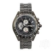 Curren Black Dial Chronograph Watch | Watches for sale in Nairobi, Nairobi Central