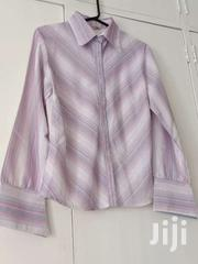 Shirt - Purple And White Striped | Clothing for sale in Nairobi, Nairobi South