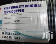 2×2.5mm High Quality Speaker Cable Copper | Audio & Music Equipment for sale in Nairobi, Nairobi Central