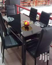 6 Seater Black Dinning Table | Furniture for sale in Nairobi, Imara Daima