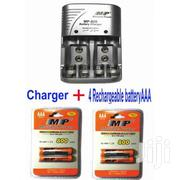 Rechargeable Battery Charger 4 AAA Rechargble Batteries | Photo & Video Cameras for sale in Nairobi, Nairobi Central