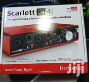 Scarlett Soundcard | Audio & Music Equipment for sale in Nairobi, Nairobi Central