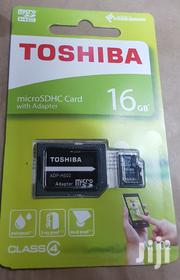 16gb Toshiba Memory Cards With One Year Warranty | Accessories for Mobile Phones & Tablets for sale in Nairobi, Nairobi Central