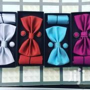 Plain Bow Tie Sets Comes With A Matching Pocke | Clothing Accessories for sale in Nairobi, Nairobi Central