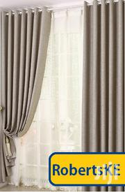 Beige Solid Colour Linen Curtain | Home Accessories for sale in Nairobi, Karen