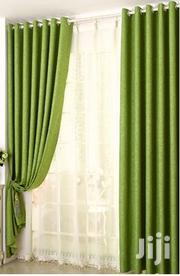 Green Linen Curtain and a Matching Sheer | Home Accessories for sale in Nairobi, Karura