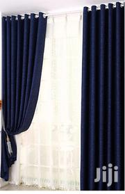 Navy Blue Linen Curtain and a Matching Sheer | Home Accessories for sale in Nairobi, Nairobi Central