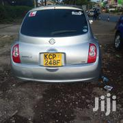 Nissan March 2010 Silver   Cars for sale in Nairobi, Kasarani