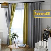 Lime Green and Grey Cotton Curtain Blend | Home Accessories for sale in Kiambu, Kabete