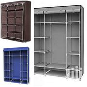 3 Columns Wooden Frame Portable Wardrobes | Furniture for sale in Nairobi, Lower Savannah