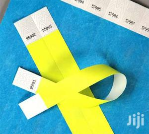 Tyvek Event Wristbands \\ Event Tags \\ Paper Wristbands