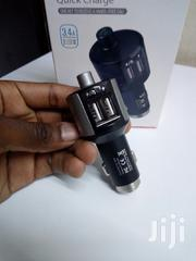 Quick Charge Hands Free Bluetooth FM Modulator With 2USB | Vehicle Parts & Accessories for sale in Nairobi, Nairobi Central