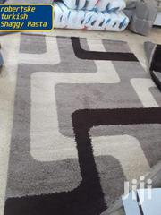 Grey Box Pattern Shaggy Rug | Home Accessories for sale in Nairobi, Kilimani