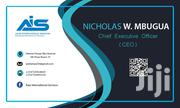 Business Cards Design | Other Services for sale in Nairobi, Nairobi Central
