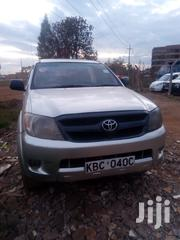 Toyota Hilux 2008 2.5 D-4D Double Cab Silver | Cars for sale in Kiambu, Hospital (Thika)