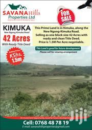 42 Acres in Kimuka at 1.5M Each Slightly Negotiable | Land & Plots For Sale for sale in Kajiado, Ngong