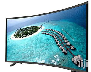 43 Inch FHD Smart Curved, Android LED TV - Black + FREE WALL MOUNT