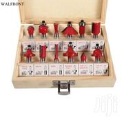 Router Bits Ideal 12pcs 8/6mm Set   Manufacturing Equipment for sale in Nairobi, Nairobi Central