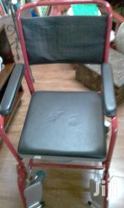 Patient Wheel Chair With Potty Beneath | Medical Equipment for sale in Mombasa, Mkomani