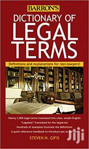 Dictionary of Legal Terms-Steven Gifis | Books & Games for sale in Nairobi, Nairobi Central