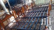 Wooden and Steel Bed | Furniture for sale in Nairobi, Eastleigh North