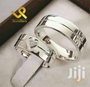 Custom Made Genuine Silver Couples Wedding Band Rings. Bride N Groom | Jewelry for sale in Nairobi, Nairobi Central