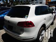 Volkswagen Touareg 2012 White | Cars for sale in Mombasa, Ziwa La Ng'Ombe