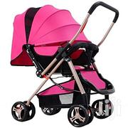 Generic Pink Lightweight Foldable Baby Stroller/ Pram/Push Chair | Prams & Strollers for sale in Nairobi, Nairobi Central