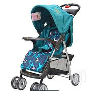 Generic Foldable Baby Stroller/ Pram/Push Chair/ Buggy-Turquoise Blue | Prams & Strollers for sale in Nakuru, Naivasha East