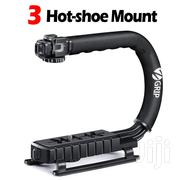 Zeadio Triple Hot-Shoe Mounts Handheld Stabilizer, Video Stabilizing | Cameras, Video Cameras & Accessories for sale in Nairobi, Parklands/Highridge