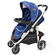 Fashion Foldable Baby Stroller/ Pram/Push Chair/ Buggy - Blue | Prams & Strollers for sale in Kisumu, Central Kisumu