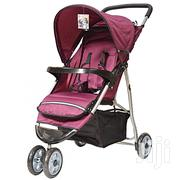 Generic Maroon Foldable Baby Stroller/ Pram/Push Chair/ Buggy | Prams & Strollers for sale in Nairobi, Nairobi South