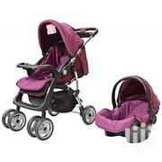 Maroon Foldable Baby Stroller/ Pram/Push Chair/ Buggy & Baby Carrier | Prams & Strollers for sale in Nairobi, Nairobi South