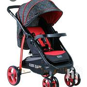 Deluxe Baby Stroller/Foldable Pram Portable Baby Stroller - Red | Prams & Strollers for sale in Nairobi, Nairobi Central