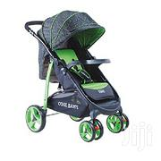 Baby Stroller/Foldable Pram Portable Baby Stroller Casters -green | Prams & Strollers for sale in Nairobi, Nairobi Central