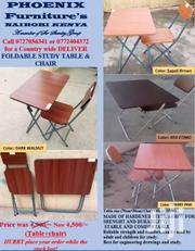 Foldable Study Table & Chair | Furniture for sale in Homa Bay, Mfangano Island